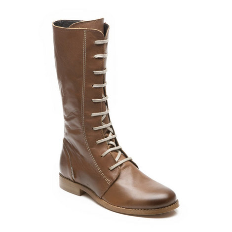 Girls Giselle High Boots, ${color}