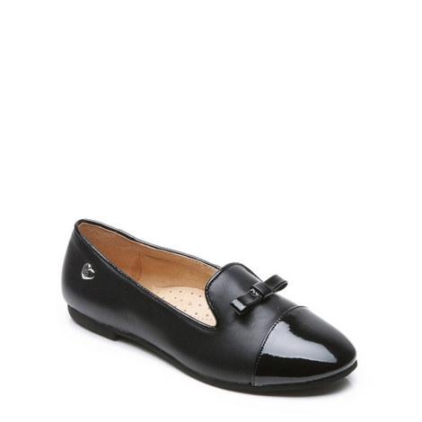 Girls Mandy School Shoes, ${color}