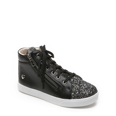 Girls Marla Glitter Trainers, ${color}