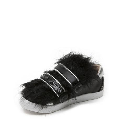 Bamba Faux Fur Trainer, ${color}