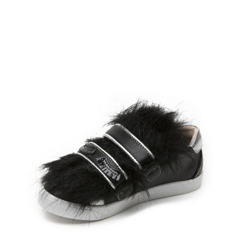 Bamba Faux Fur Trainer, ${color}