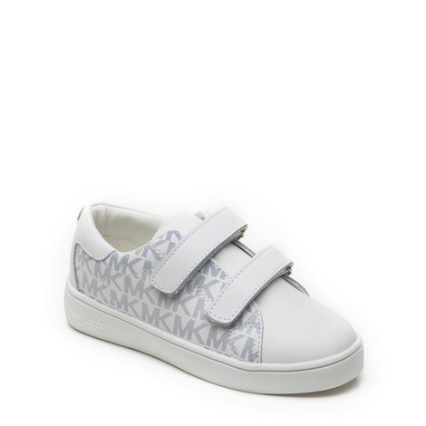 Branded Velcro Trainers Girls, ${color}