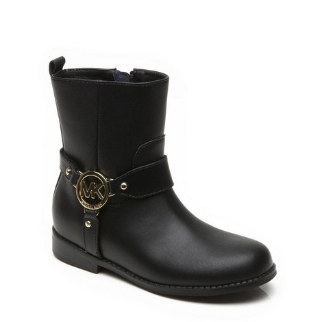 Branded Ankle Boots Girls, ${color}