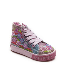 Embellished High Top Trainers