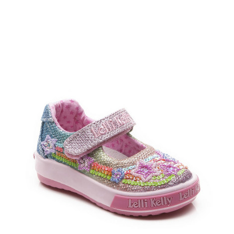 Rainbow Stars Dolly Shoes Toddler, ${color}