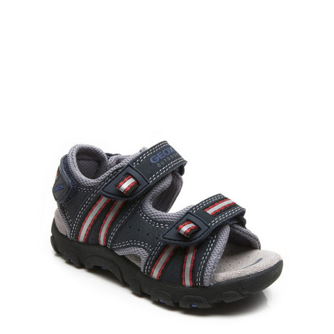 Velcro Strap Sandals Boys, ${color}