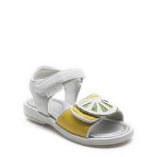 Lemon Lime Jelly Sandals