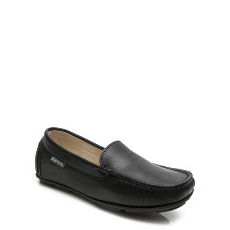 Charme Leather Loafers Boys, ${color}