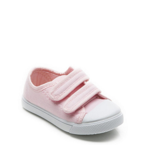 Toecap Velcro Canvas Shoes, ${color}