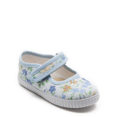 Greta Printed Canvas Shoes, ${color}