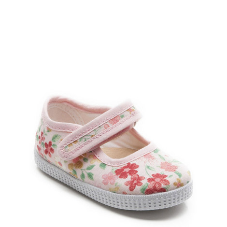Greta Printed Canvas Shoes, ${color}