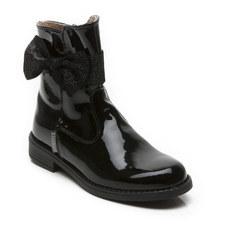 Vicky Patent Boots