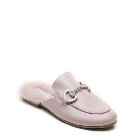 Cinderella Backless Loafers, ${color}