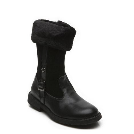 Girls Logan Zip Boot, ${color}