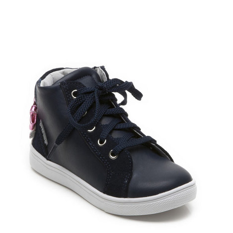 Girls Dolly Hightop Trainer, ${color}