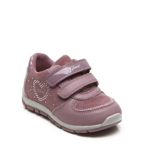 Girls Shaax Strap Trainer, ${color}