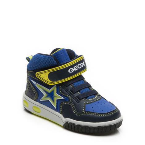 Boys Gregg High Top Trainers, ${color}