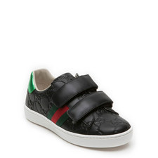 Leather Velcro Strap Toddler Trainers