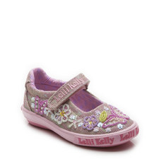 Shining Butterfly Dolly Shoes