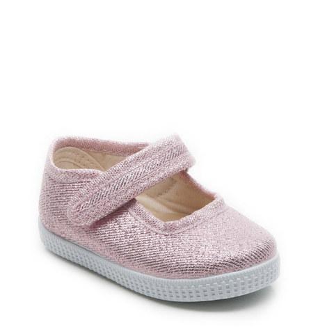 Greta Glitter Canvas Shoes, ${color}