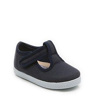 Mitch 2 T-Bar Canvas Shoes Boys