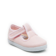 Mitch 2 T-Bar Canvas Shoes Girls