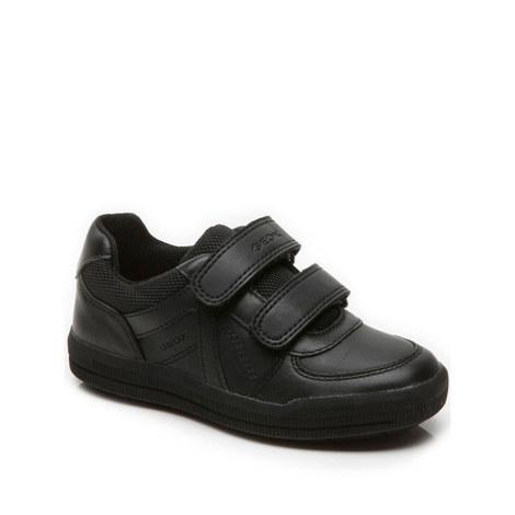 Double Strap School Shoes, ${color}