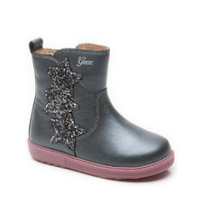 Girls Sequin Star Boots