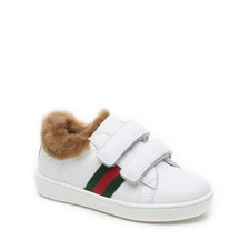 Faux Fur Toddler Trainer