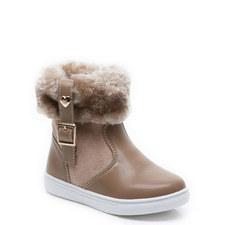 Mini Logan Zip Boots