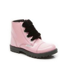 Tin Patent Boots