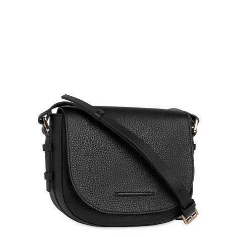 Baker Leather Saddle Bag, ${color}