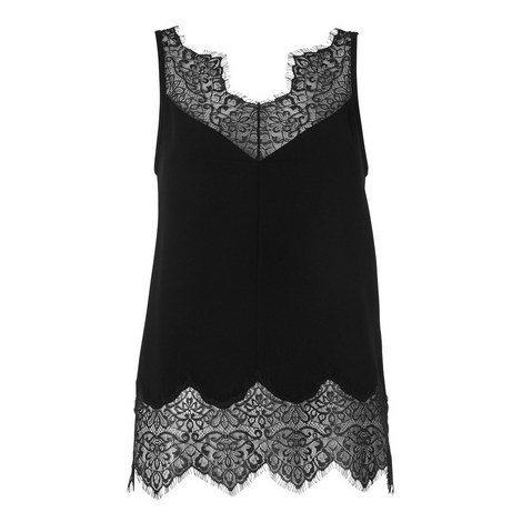 Milandra Lace Trim Cami, ${color}