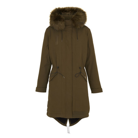 Jules Faux Fur Parka, ${color}