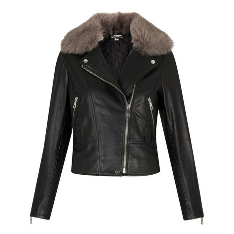 Toscana Fur Biker Jacket, ${color}