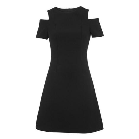 Cold Shoulder Dress, ${color}