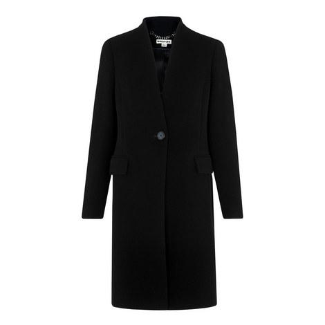 Aniko Collarless Tailored Coat, ${color}