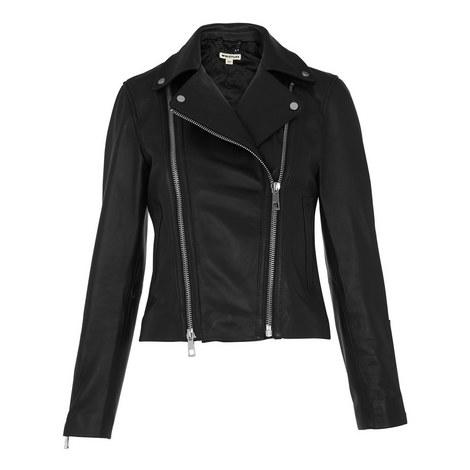 Lexi Leather Biker Jacket, ${color}