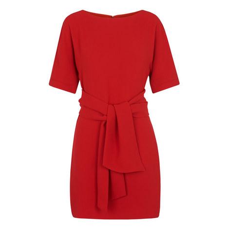 Cecil Tie Front Dress, ${color}
