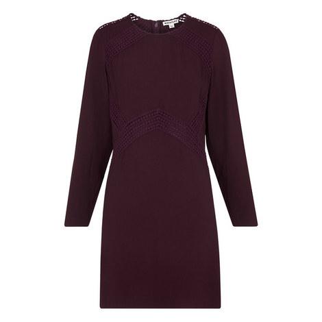 Amy Lace Insert Dress, ${color}