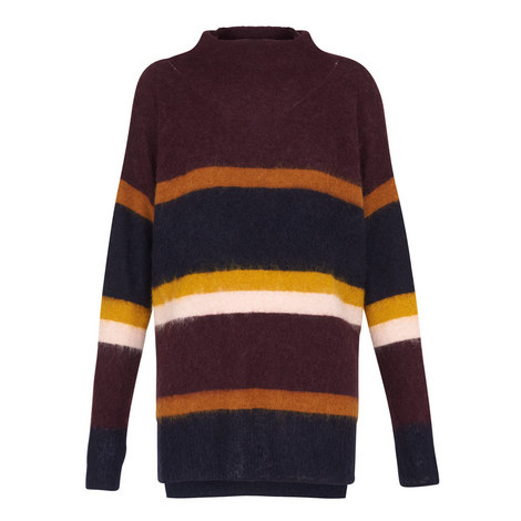 Stevie Striped Sweater, ${color}