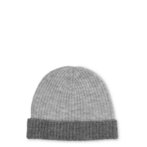 Ribbed Two Tone Hat, ${color}