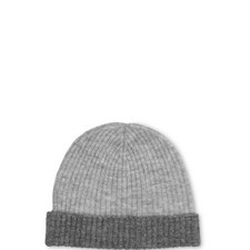 Ribbed Two Tone Hat