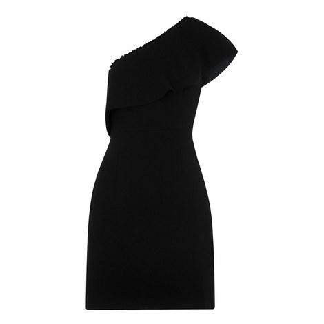 Teagan One Shoulder Dress, ${color}