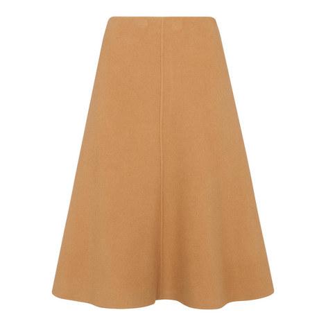 Wool Midi Skirt, ${color}
