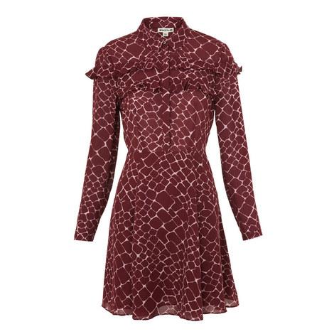 c6d1360b1c Lucinda Giraffe Print Silk Dress