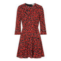 Anjelica Cherry Print Dress, ${color}