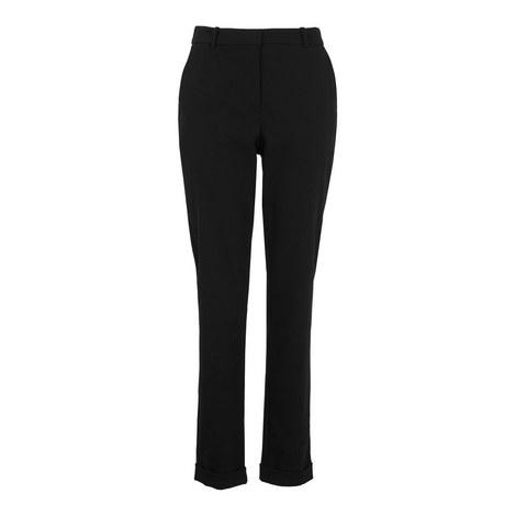 Sadie Cuffed Slim Trousers, ${color}