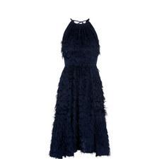 Irina Feathered Dress