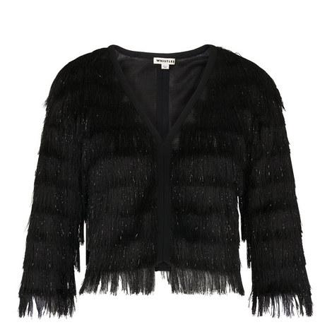 Sparkle Fringe Jacket, ${color}